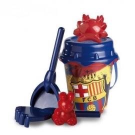 Set pentru nisip cu 5 piese - FC Barcelona