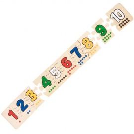 Puzzle Numere si puncte