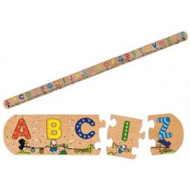Puzzle Alfabetul distractiv