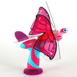 Butterfly (FlutterBy) roz - Fluturele Flytech