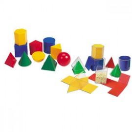 Set forme geometrice din plastic si pliante