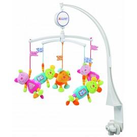 Carusel Muzical Mobil Robos