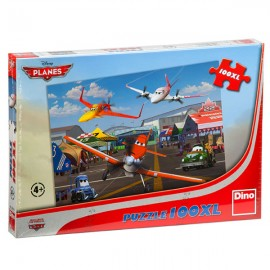 Puzzle - cursa avioanelor (100 piese xl)