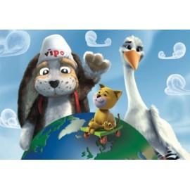 Puzzle - lumea lui vipo (24 piese)