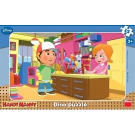 Puzzle - manny iscusitul (15 piese)