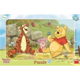 Puzzle - ursuletul winnie (15 piese)