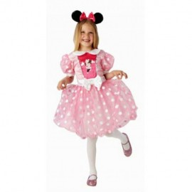 Costum de carnaval - minnie mouse (roz)
