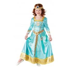 Costum de carnaval - printesa merida deluxe