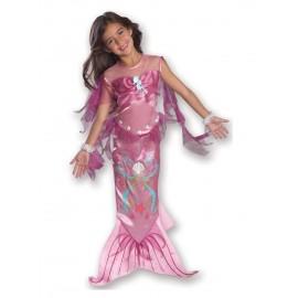 Costum de carnaval - sirena (roz)