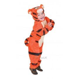 Costum de carnaval din blanita - tigger