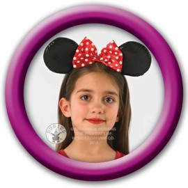 Urechi minnie mouse deluxe (rosu)