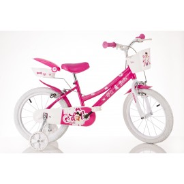 Bicicleta barbie - 166r ba
