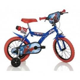 Bicicleta spider man - 143g sp