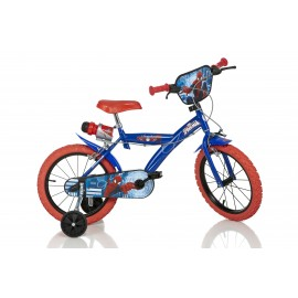 Bicicleta spider man - 163g sp
