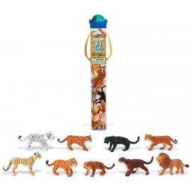 Tub figurine Feline mari