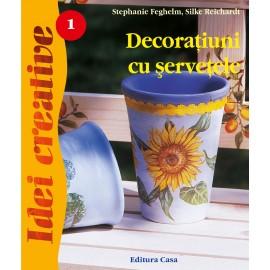 Decoratiuni cu servetele - Editia a III-a - Idei creative 01