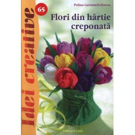 Flori din hartie creponata - Idei Creative 65