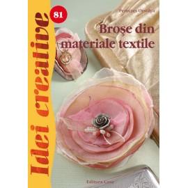Brose din materiale textile - Idei creative 81