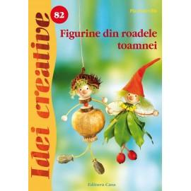 Figurine din roadele toamnei - Idei creative 82