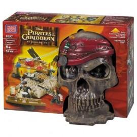 Mega Bloks - Piratii din Caraibe 3: Pirate Skull (craniu de pirat)