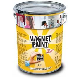 Vopsea cu proprietati magnetice 5 L - MagnetPaint
