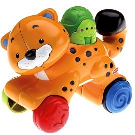 Ghepard apasa si merge Fisher Price