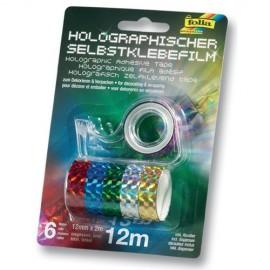 Banda adeziva holografica