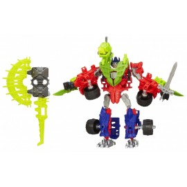 Robot Transformers Set figurine Optimus Prime si Gnaw Dino
