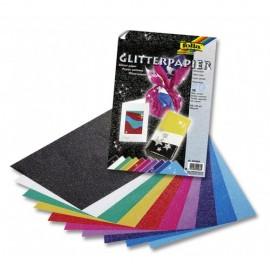 Hartie Glitter colorata