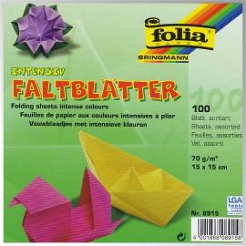 Hartie origami 100 patrata 1515