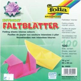 Hartie origami 100 patrata 2020