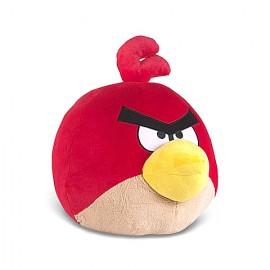 Angry Birds Pasarea Rosie - Figurina De Plus 13 Cm