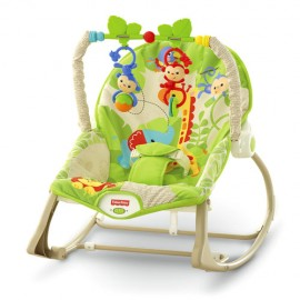 Balansoar 2 in 1 Infant to Toddler Rainforest Friends Fisher Price
