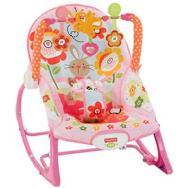 Balansoar 2 In 1 Infant To Todler Pink Fisher Pric
