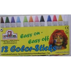 Set 12 culori fata si corp - Eulenspiegel