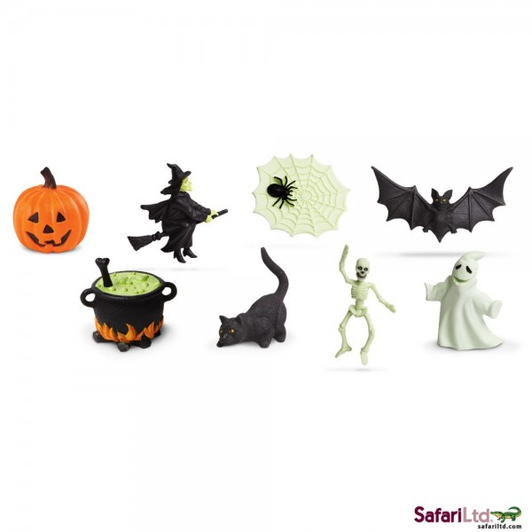 Tub cu figurine fosforescente Halloween