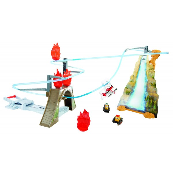 Set de joaca Piston Peak Air Attack Trackset - Fire and Rescue Disney Planes 2