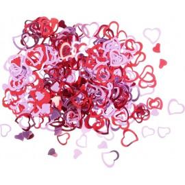 Confetti stralucitoare – inimi , 3