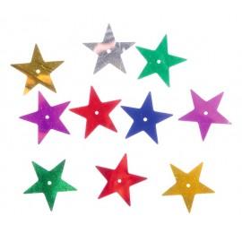 Confetti stralucitoare – stelute mari