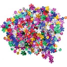 Confetti stralucitoare – mix forme colorate