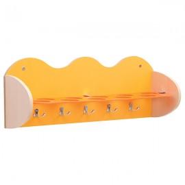 Cuier pentru baie – galben