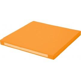 Saltea din spuma, patrata – portocaliu