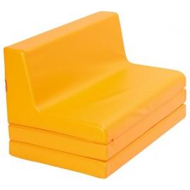 Imagine indisponibila pentru Canapea din spuma, extensibila - portocaliu