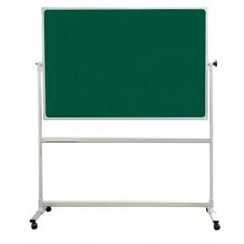 Tabla verde, dubla, rotativa