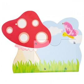 Tablita pentru nume – ciuperca