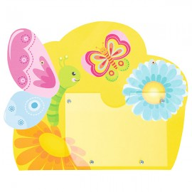 Tablita pentru nume – fluture