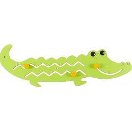 Aplicatie pentru perete - Crocodil – Zoo