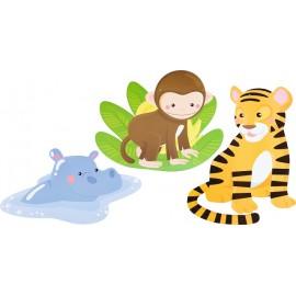 Decoratiuni pentru perete – Safari – Zoo