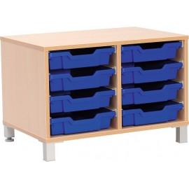 Dulap M pentru cutii de depozitare, cu picioare