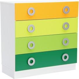 Dulap Colores pentru sertare late